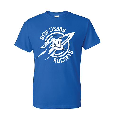NL Short Sleeve Tee Shirt - Gildan