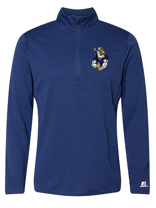 Russell Athletic - Striated Quarter-Zip Pullover