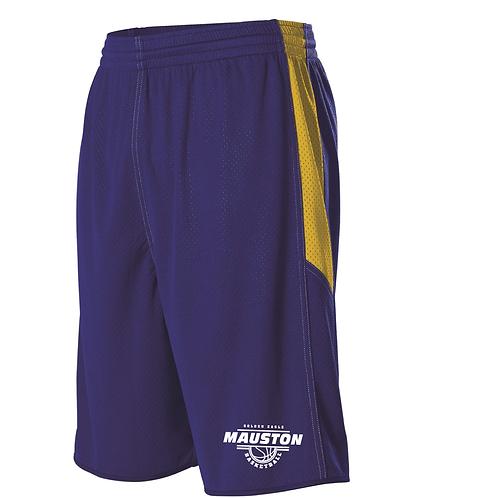 Mauston BB Single Ply Reversible Basketball Shorts