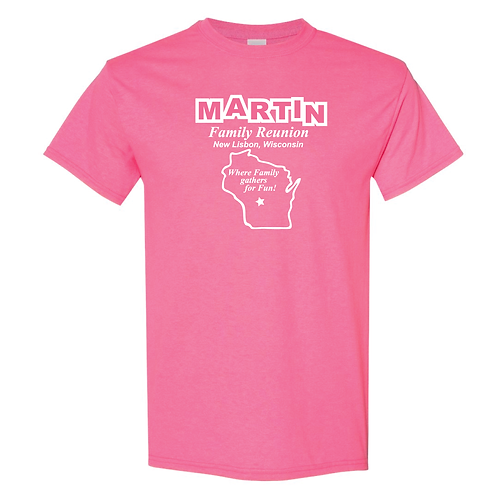 MARTIN FAMILY SAFETY PINK