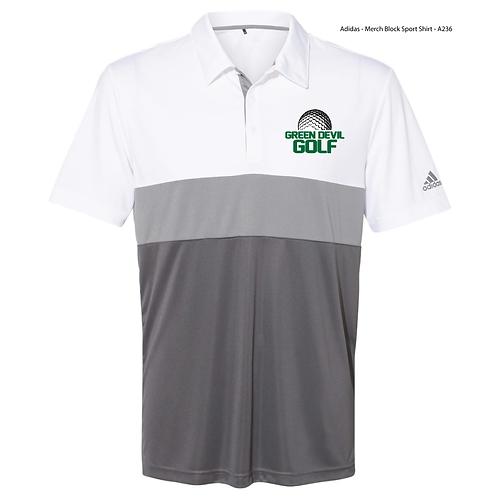 AF GOLF Adidas - Merch Block Sport Shirt - A236