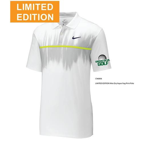 AF GOLF LIMITED EDITION Nike Dry Vapor Fog Print Polo