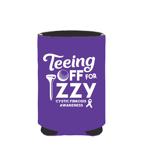 TEEING OFF FOR IZZY CAN COOLIE