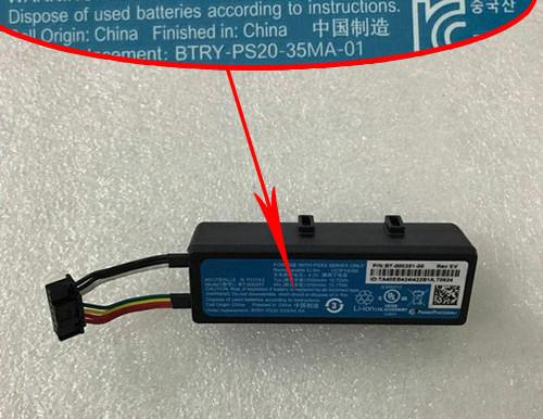 Zebra BT-000351 Batterie pour Zebra PS20J