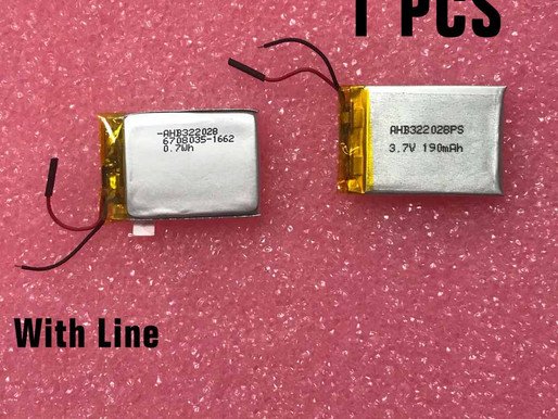 190mAh /0.7Wh TomTom Runner Cardio(With Line) pour TomTom AHB322028