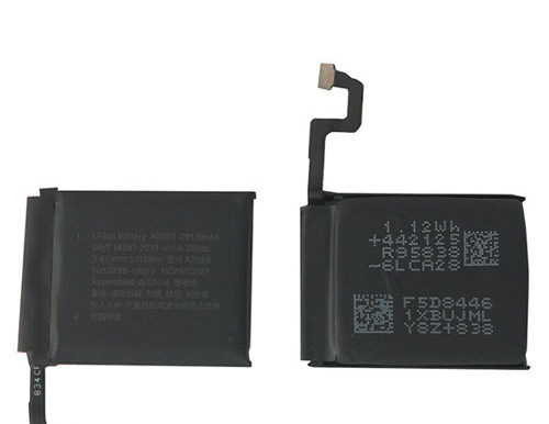 3.8V/4.35V Apple Watch Series 4 (44mm) pour Apple A2059