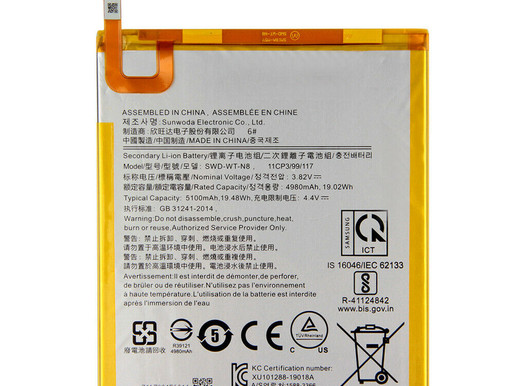 Samsung SWD-WT-N8 pour 5100mAh Samsung Galaxy Tab A T295 T290