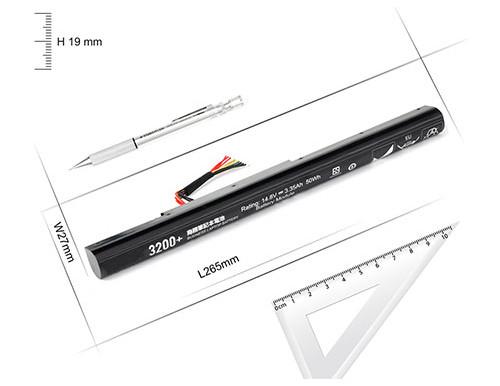 14.4V/14.8V Lenovo Erazer Z400A Z500A pour Lenovo KE40