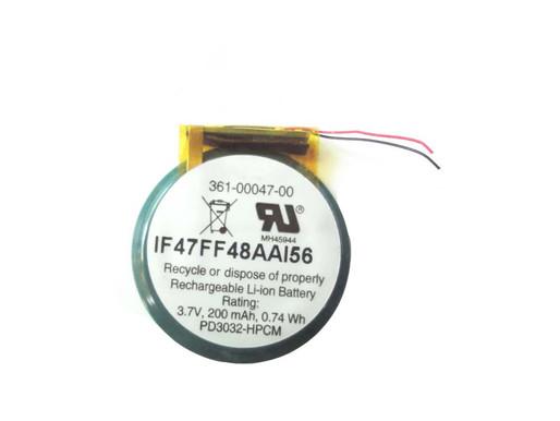 Garmin 361-00047-00 pour 3.7V/4.2V Garmin Forerunner 110 110W 210 Approach S1 S2 S3 S4