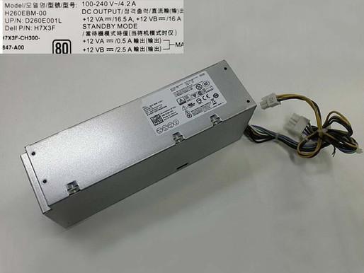 Dell H260EBM-00 pour 260W Dell Optiplex 3060 5060 7060