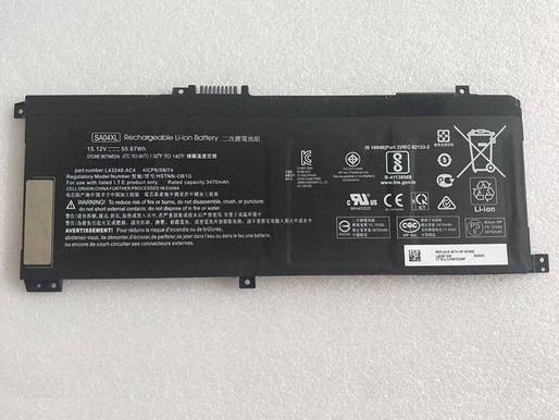 15.12V/17.4V HP HSTNN-OB1G HSTNN-OB1F L43248-AC1 L43248-AC2 pour HP SA04XL
