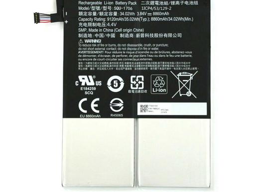 8860mAh/34.02WH Acer Chromebook Tab 10 pour Acer SQU-1706