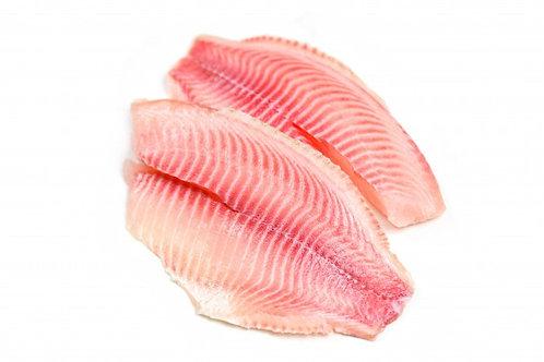 Filete de Tilapia                   Porción 160 - 200 gr aproximadamente