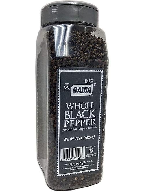 Pimienta Negra Entera x 453.6 grs