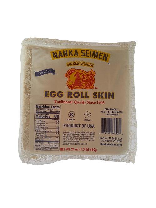 Egg roll skin