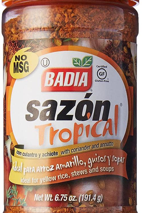Sazon Tropical con Culantro y Achiote x 191.4 grs