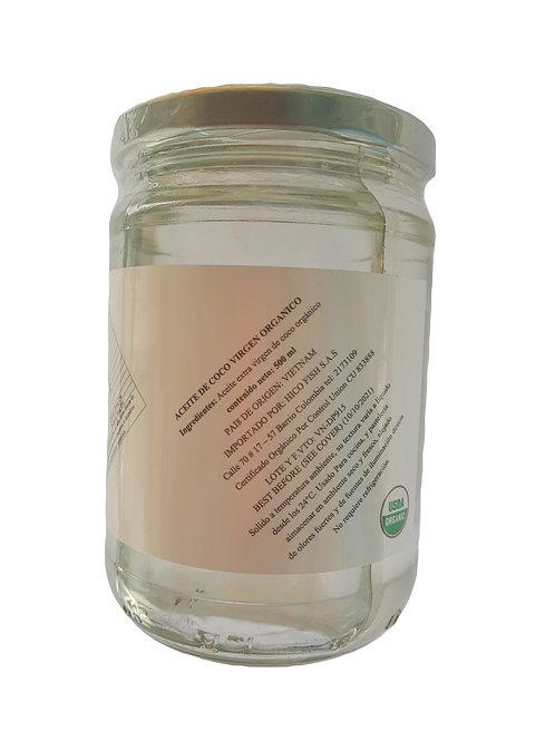 Aceite de coco x 500 ml