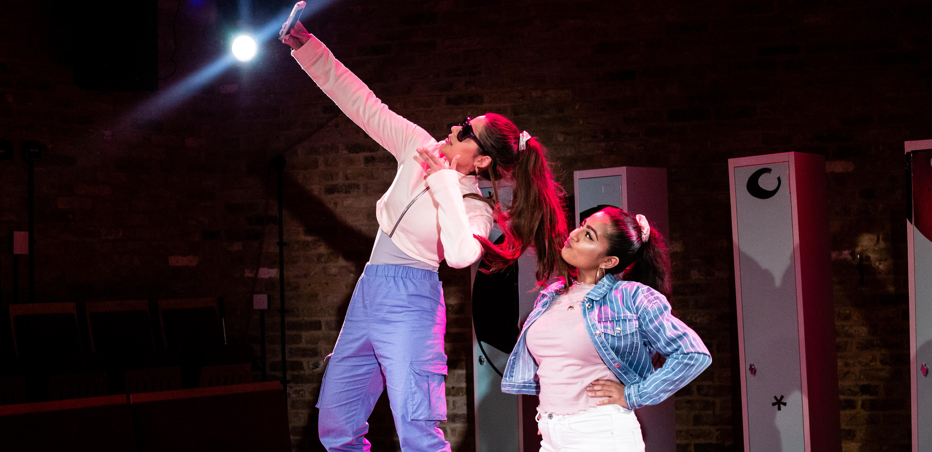 Nyla Levy and Halema Hussain in Does My Bomb Look Big in This?