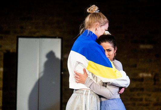 Eleanor Williams and Nyla Levy in Does My Bomb Look Big in This?