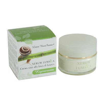 XERUM LUMACA - Crema viso alla bava di lumaca - Nutriente e rigenerante - 50 ml