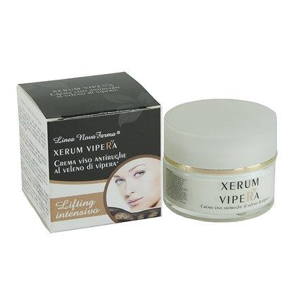 XERUM VIPERA - Lifting intensivo - Crema antirughe al Veleno di Vipera - 50 ml