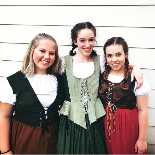 Sophie, Grace, & Chloe in Young Frankenstein