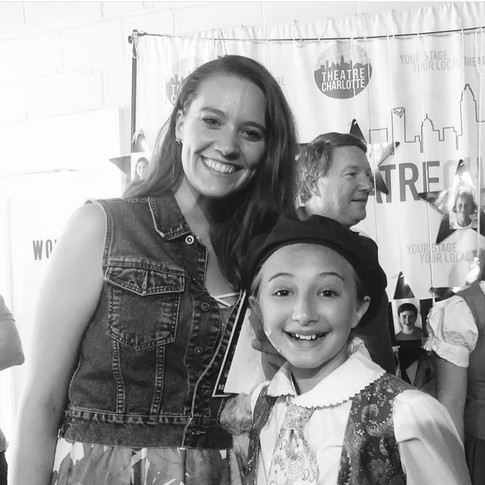 """Lacey post post """"Beauty & the Beast Jr."""""""