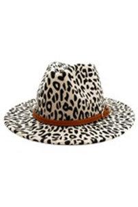 Blake Belted Panama Hat White
