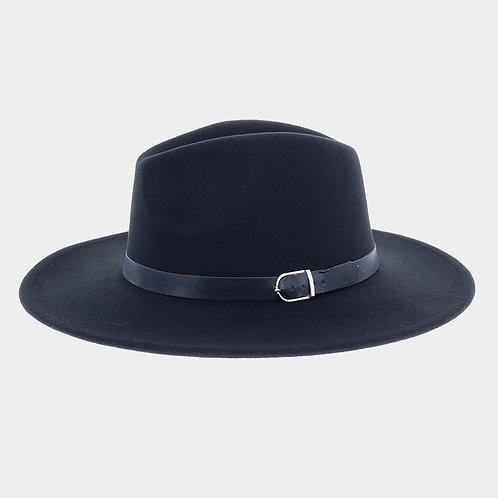 Boater Hat Black