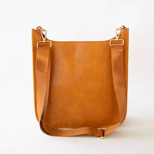 Zane Crossbody Bag Cognac