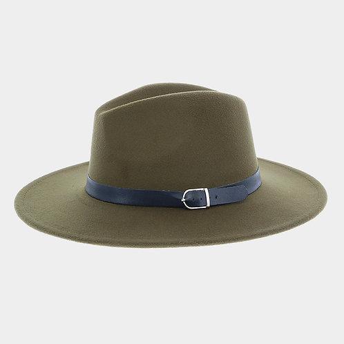 Boater Hat Olive