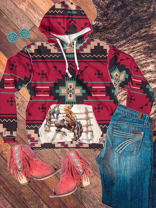 Unisex Wild West Hooded Sweater