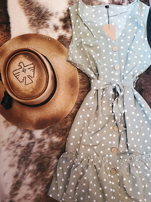 The Mallory Polka Dot Dress