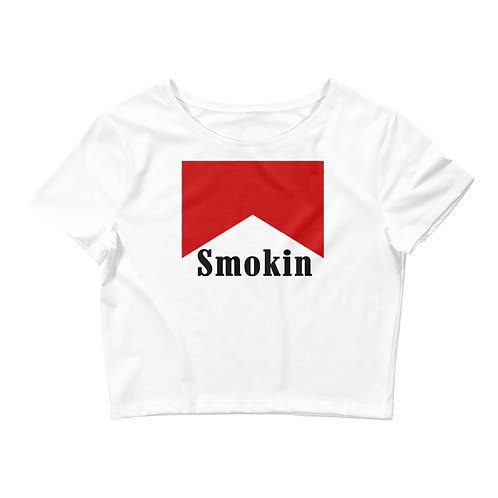 Smokin Women's Crop Tee