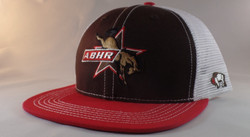 ABHR Brown and Red Snapback