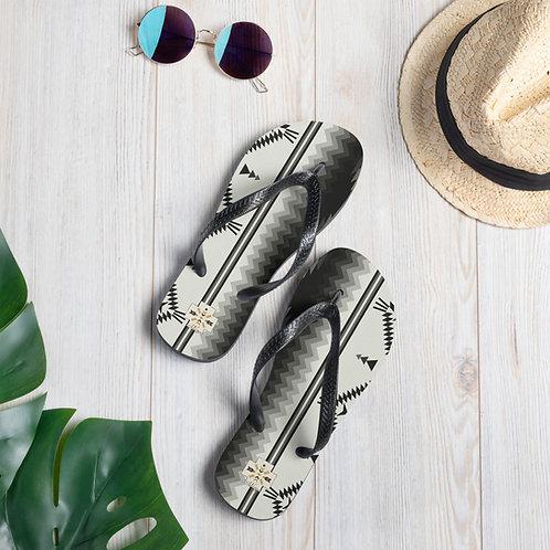 Aztec Flip-Flops