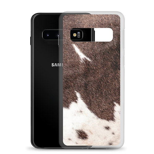 Cow Print Samsung Case
