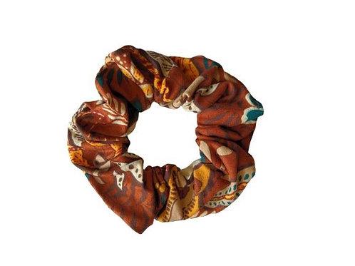 Exotic Brown Scrunchie