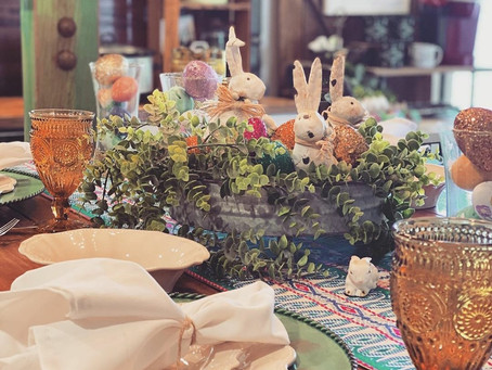 Missy Redford's Easter Table Décor