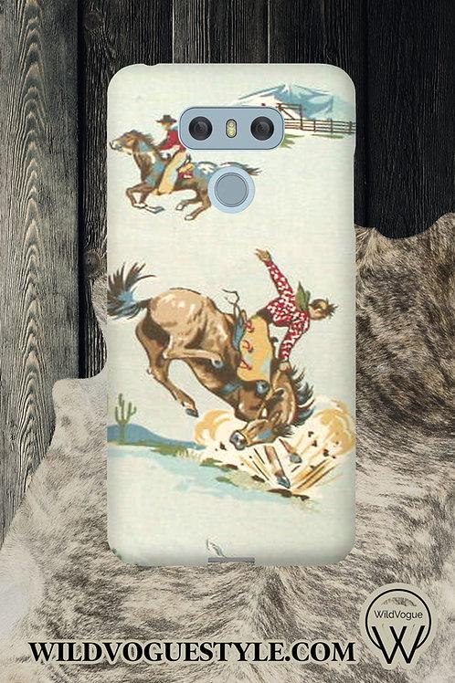 Vintage Cowboy Case