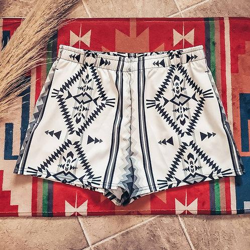 Aztec Women's Athletic Shorts