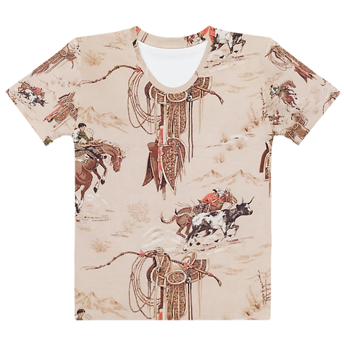 Rodeo All Over Tee