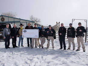 Freeman Ranch donates funds and horse to El Paso County Sheriff's Office