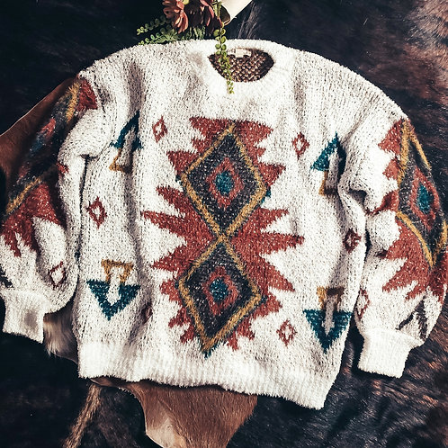 The Butte Aztec Sweater