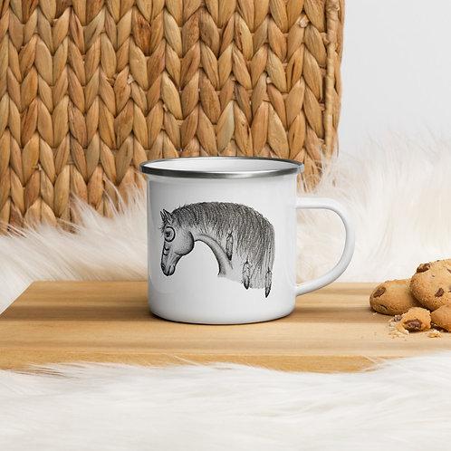 12 OZ. Wild & Witte War Horse Campfire Mug