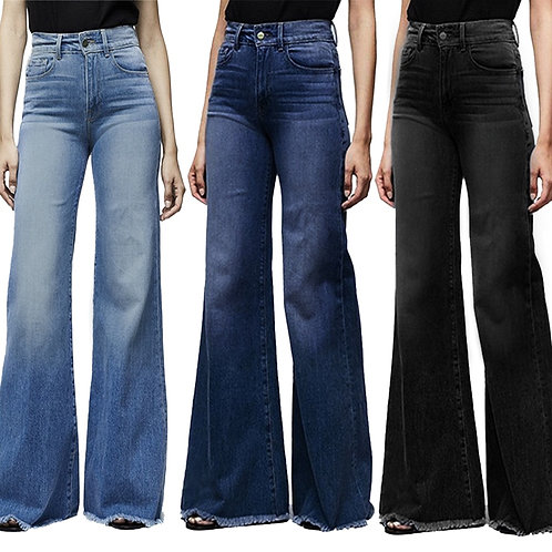 Wide Leg Boyfriend Jeans