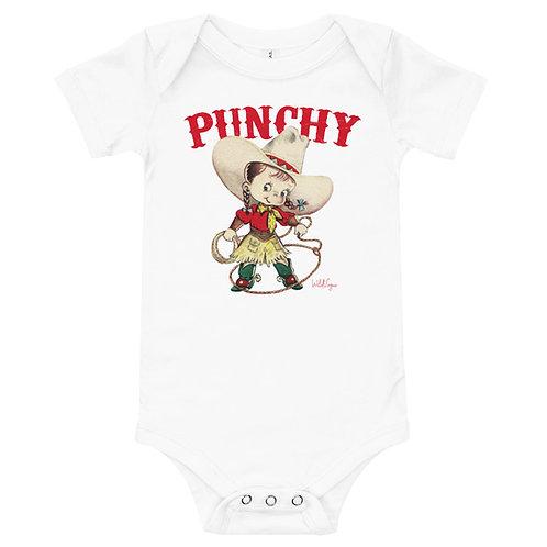Baby Girl Punchy short sleeve onesie
