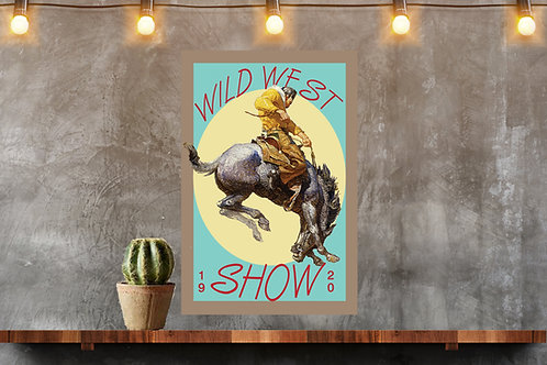 Wild West Show Wall Art