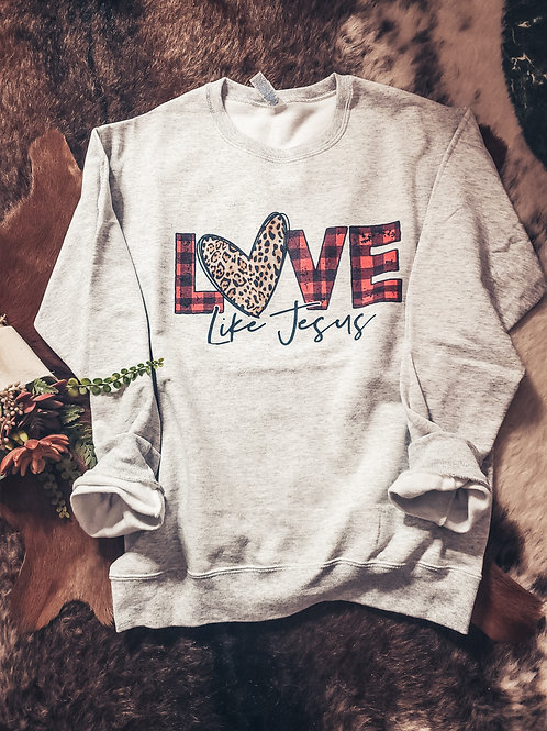 Love Like Jesus Sweater