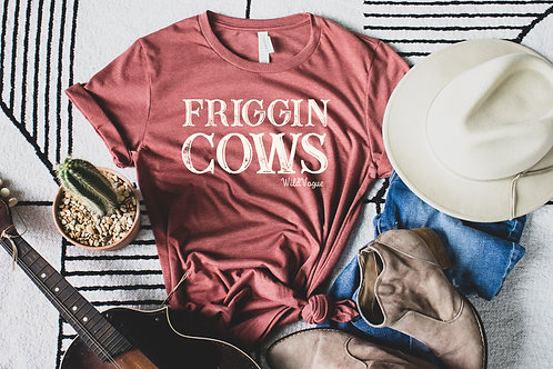 Friggin Cows Short-Sleeve Unisex T-Shirt